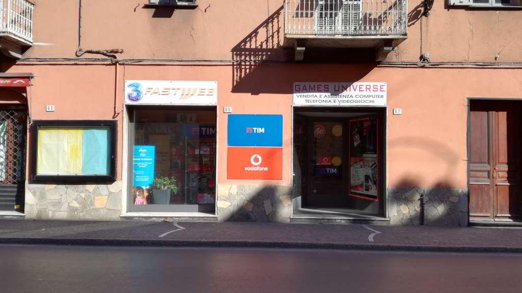 Games Universe - Centro Vodafone, Centro Tim, Centro Fastweb ed Eolo